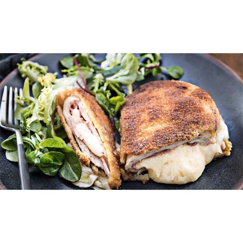 Cordon bleu de poulet pané Savoyard
