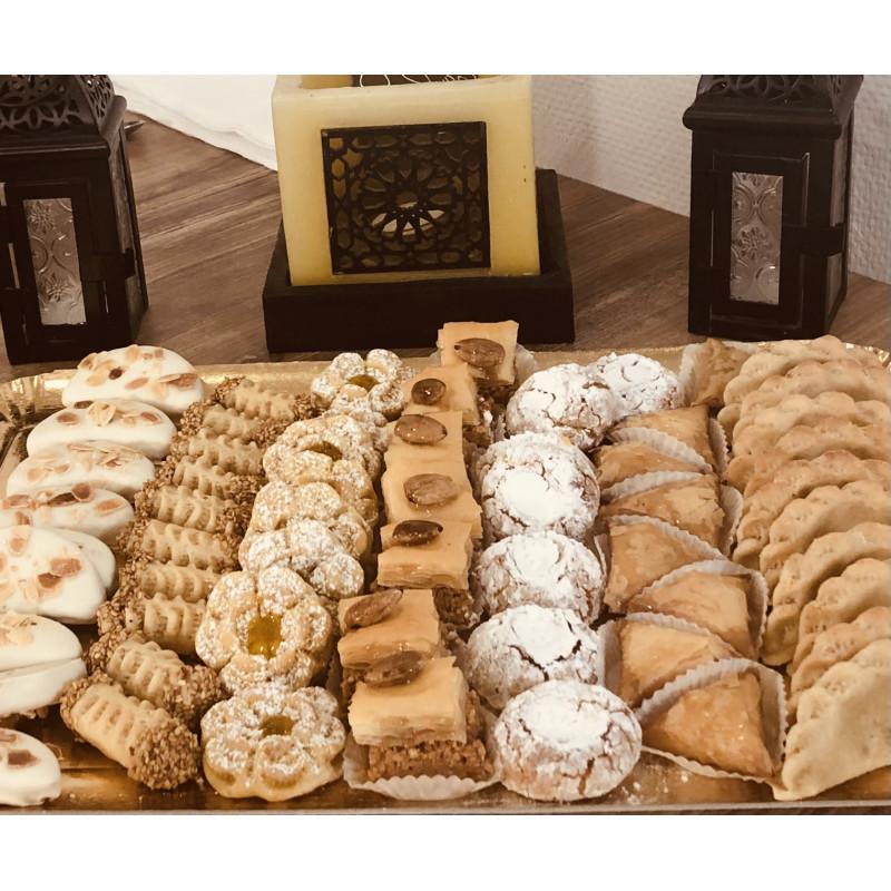 Pâtisseries orientales 8 pièces