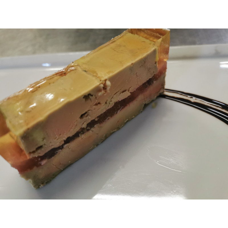 Foie gras de canard à la rhubarbe